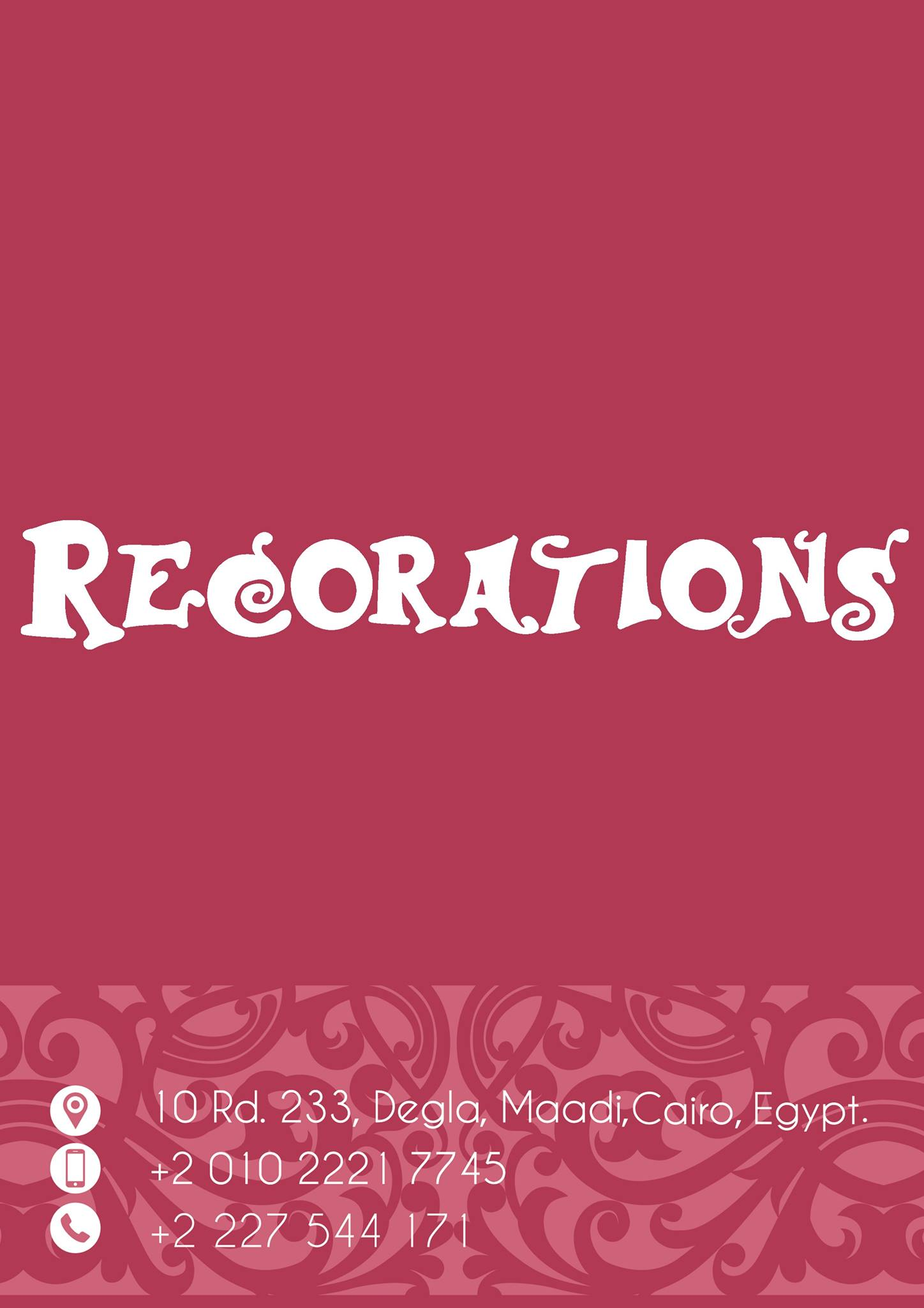 ريكوريشنز هوم أكسيسوريز Recorations